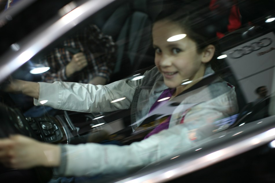 Anna at the Wheel