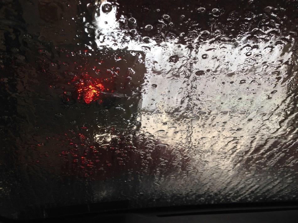 car wash through a windshield