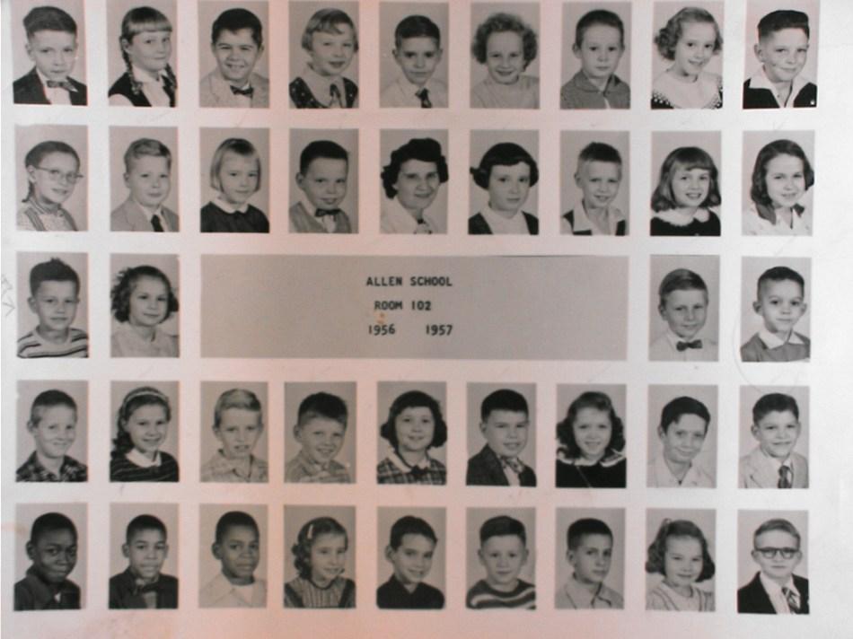 Allen School 1956 _1957
