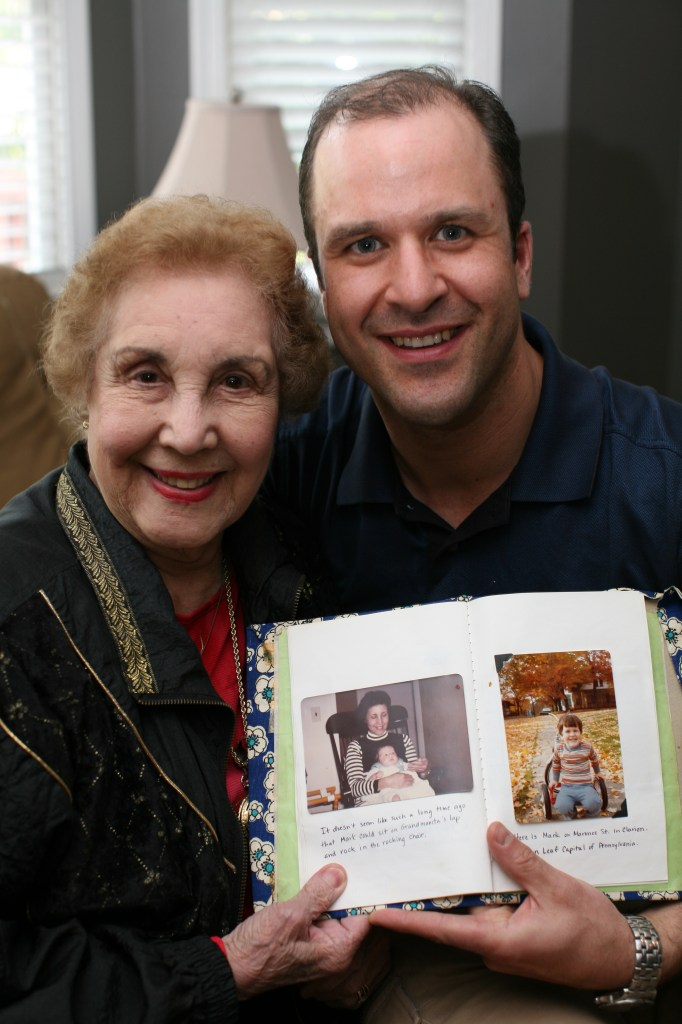 mark and his grandmother