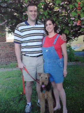 Mark Erika and Murphy waiting for Anna