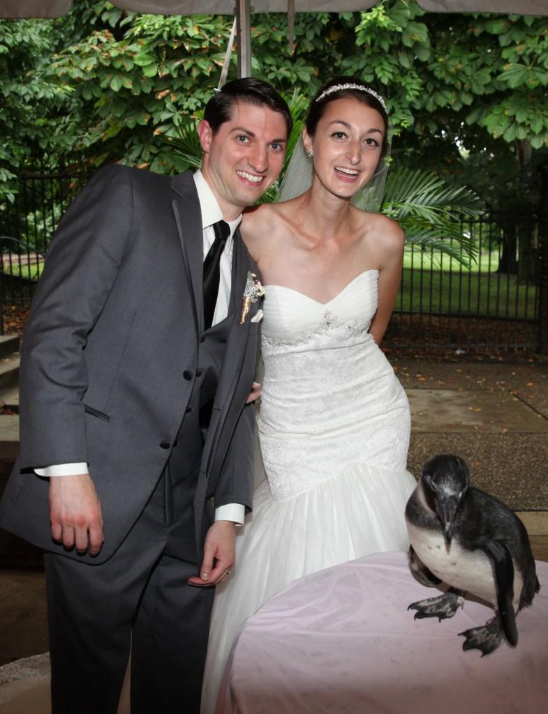 Jess and Matt at the Aviary