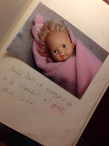 baby doll blanket