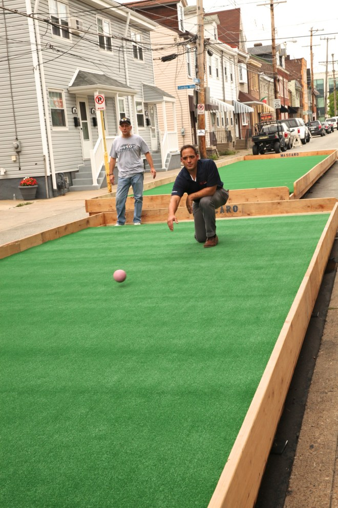Bocce Courts in Bloomfield 2
