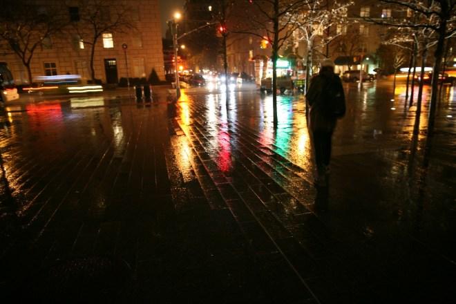 museum NYC night