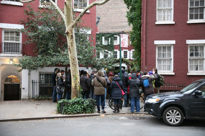 tour group Greenwich Village