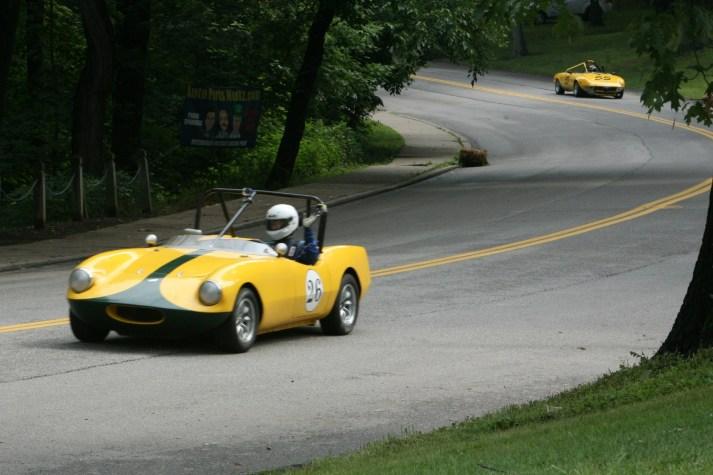 yellow vintage cars