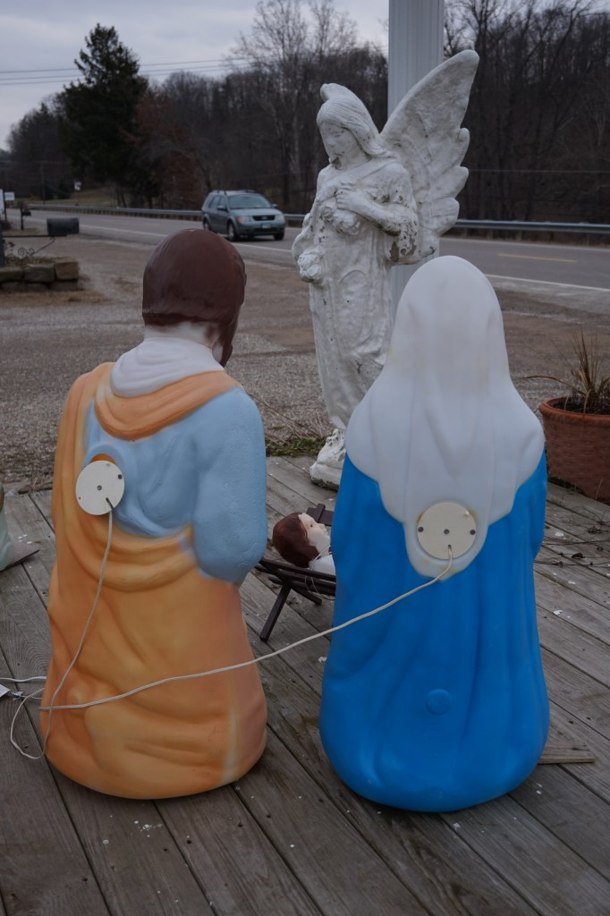 Electric Nativity Set