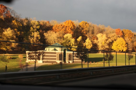 Allegheny Cemetery Autumn