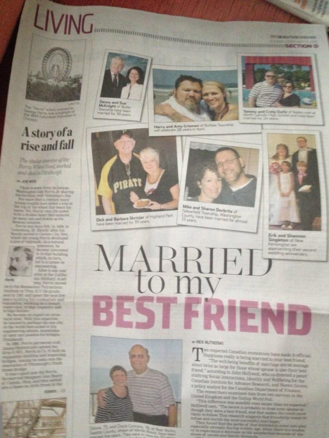 Long Time Spouse Article