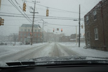 Red light in Bloomfield on Friendship Ave