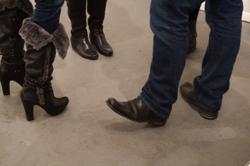 fur top boots