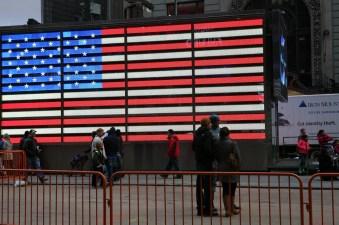 flag wall