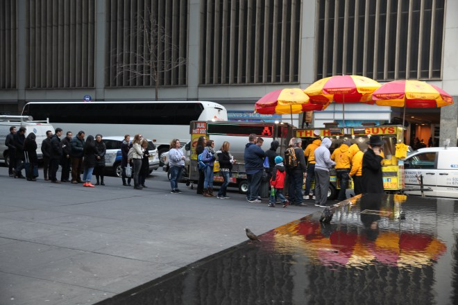 FOOD LINE ON SIXTH AVE
