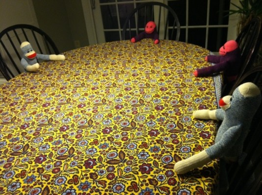 Sock Monkey Board Meeting