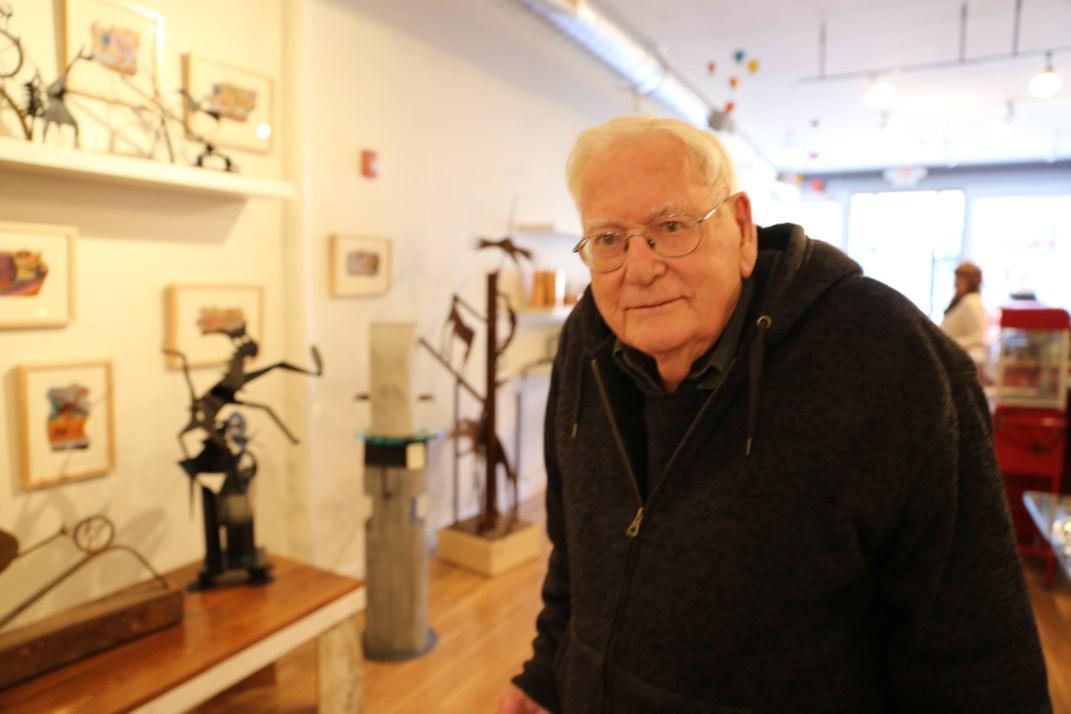 Sculptor, Architect, Artist David Lewis