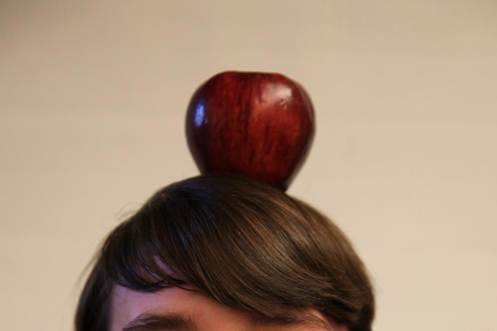apple atop student