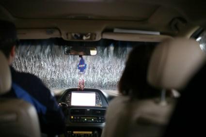 car wash window