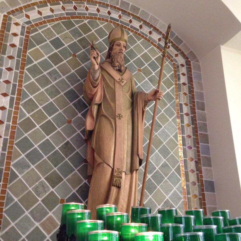St Patrick at St Patrick
