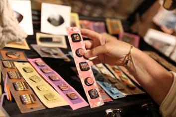 Raku Ceramic Buttons
