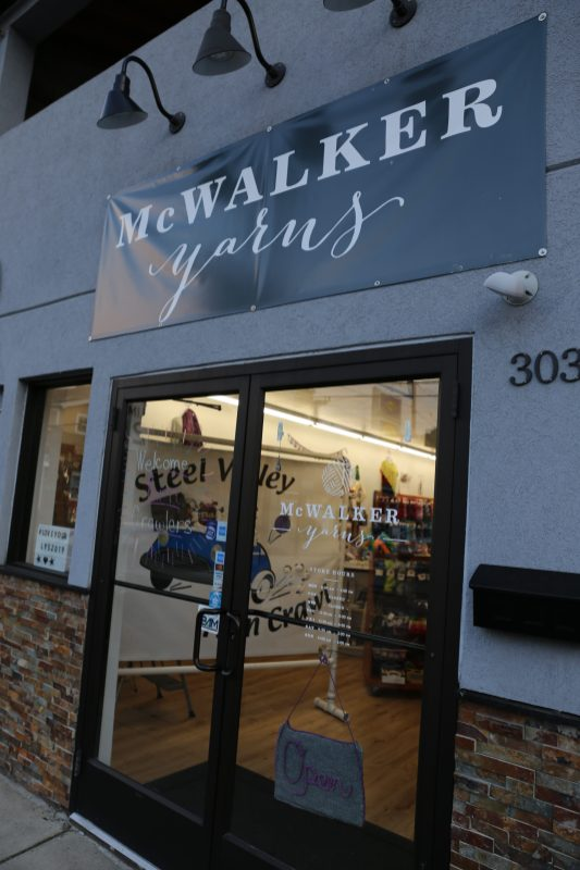 Good Night Steel Valley Yarn Crawl. Extended hours- opening at 8AM in Saturday morning.