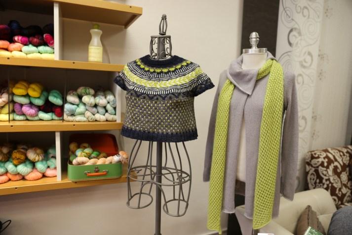 Soldotna Crop(Caitlin Hunter Design) expertly knit by Natalie Belmont