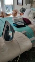 Ironing/laundry