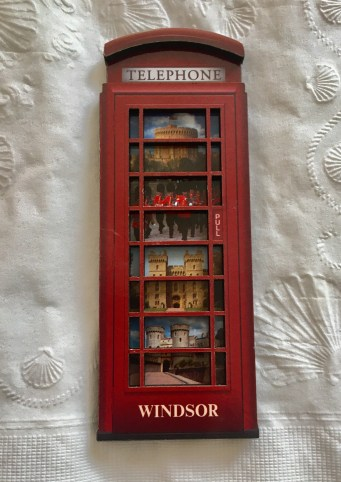 Windsor Telephone Booth England