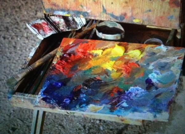 Artist Paint Palette Photography