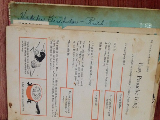 The recipe for Penuche