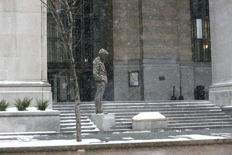 Mayor Caligiuri Statue