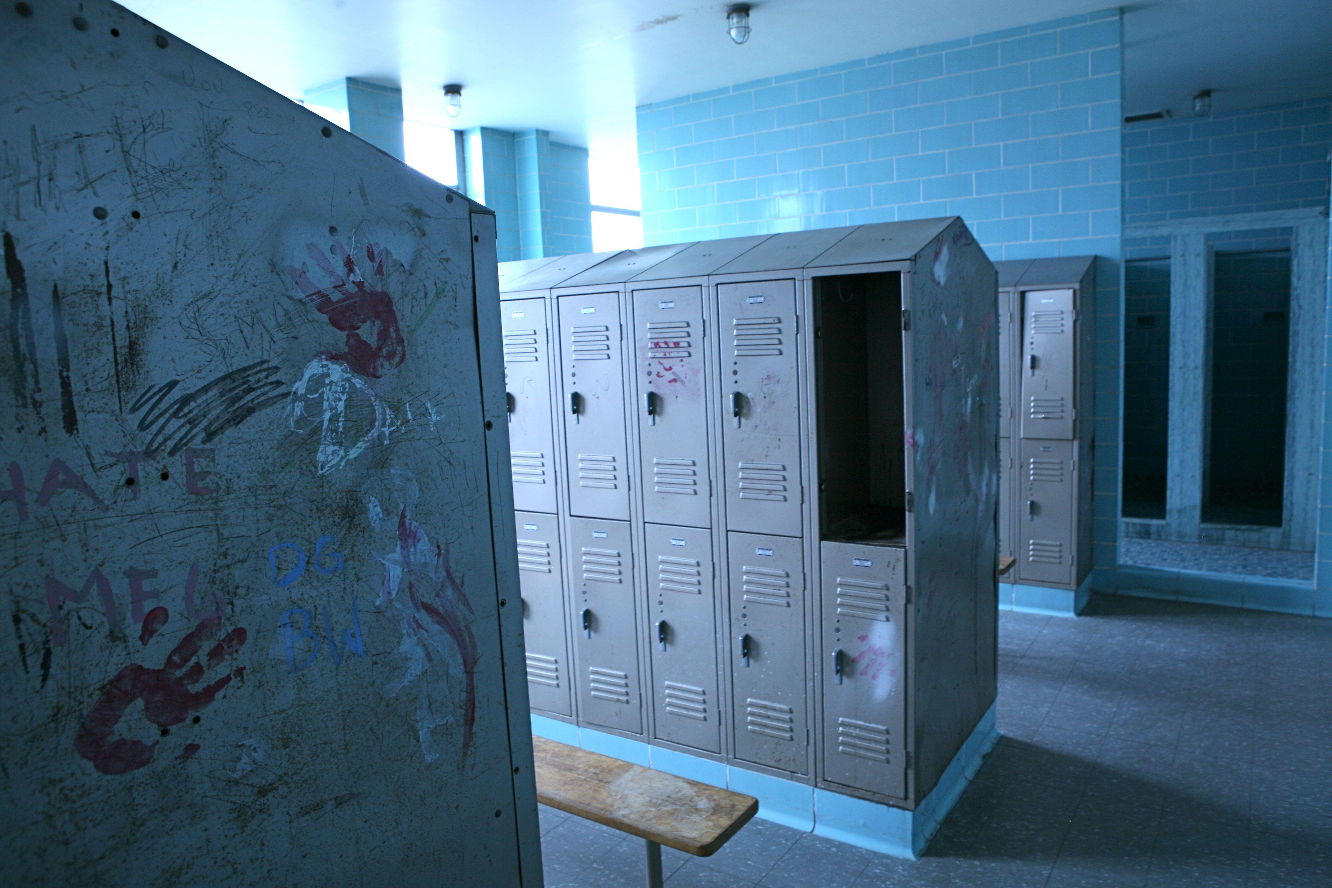 School Locker Room  Writing Assignment Prompt? U2013 Ruth E. Hendricks  Photography
