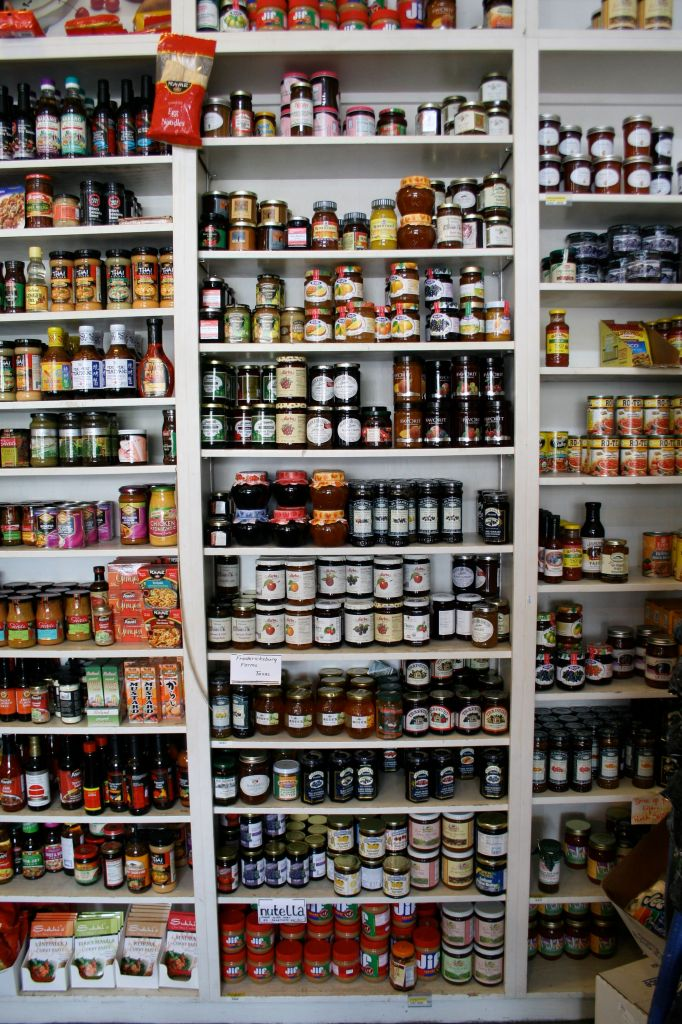 You name it, they have it! Jams, jellies, preserves.