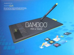 Wacom Bamboo Pen & Touch Graphics Tablet box