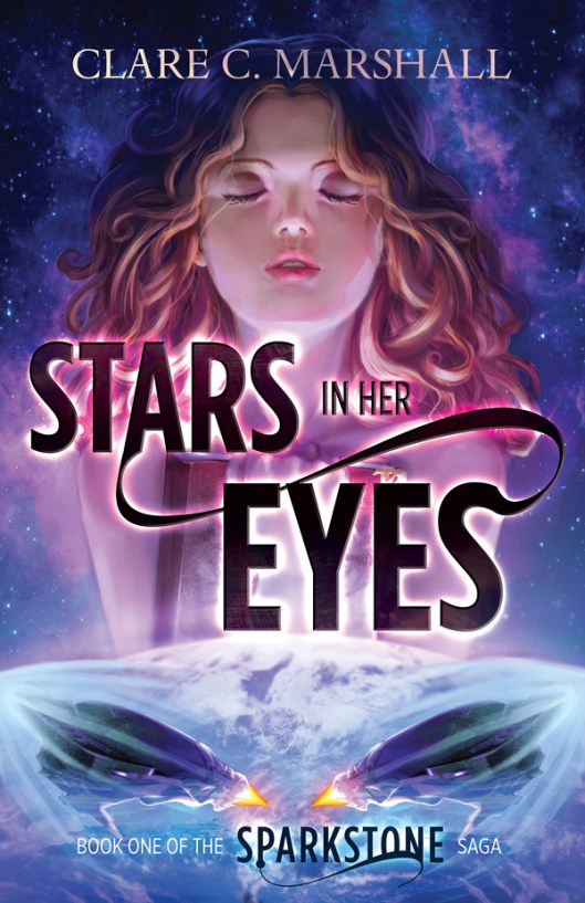 Stars in her Eyes by Clare Marshall Book Cover Reveal