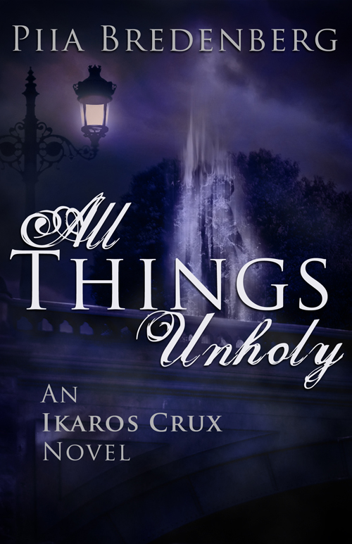 All Things Unholy Piia Bredenberg Cover