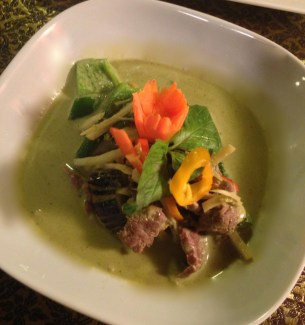 Green Curry in Bowl