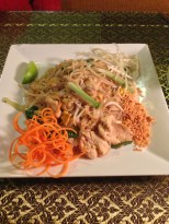 Authentic Pad Thai with Chicken
