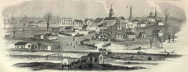Murfreesboro during the Civl War.