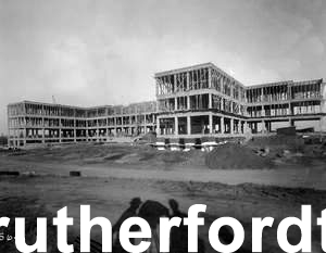 York VA Medical Center under construction in 1939.