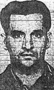 """Albert """"Bantam"""" Dubois, a native of Rutherford County, was electrocuted at the Tennessee penitentiary in 1947."""