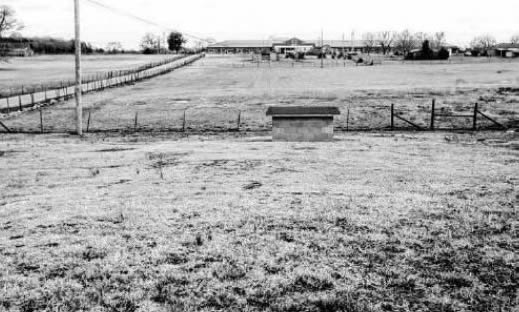 Little Hope School once occupied this site in the Little Hope Community.  Brown's Chapel Elementary is visible in the distance.