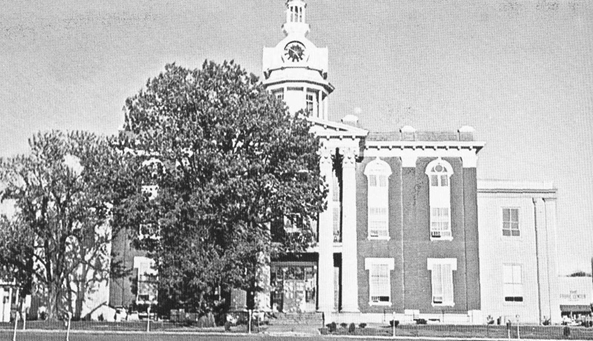 Rutherford County Courthouse, circa 1960