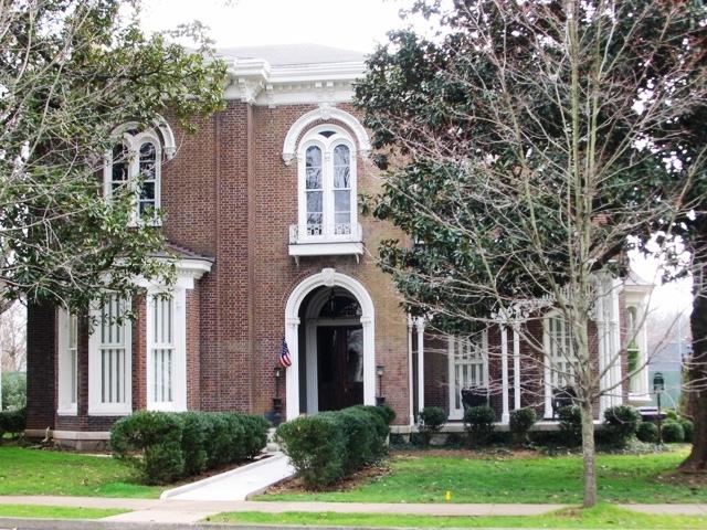 The historic Palmer Mansion, 434 East Main Street, Murfreesboro, built by Confederate General Joseph Palmer, 1869.