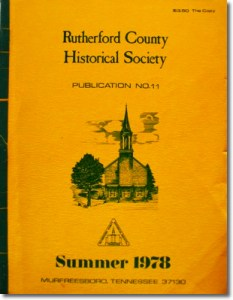 Publication 11: State Capitol, Ben McCullough, Michael Lorance - Revolutionary War Pension, County Store, and Soule College. (Please add shipping of $5.00)