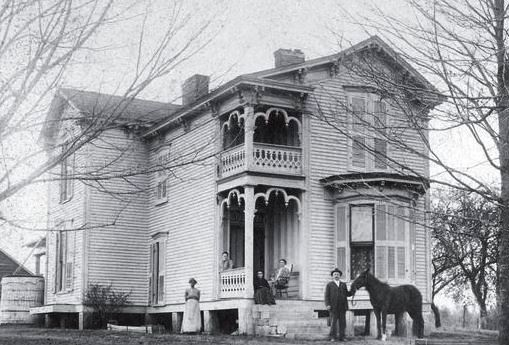 The McCord home in Eagleville, built 1882, is on the National Register of Historic Sites.