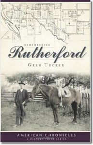 "Publication 68: ""Remembering Rutherford"" written by Greg Tucker. Rutherford Countians will have an opportunity to revisit our history, or take the tour for the first time, with the publishing of The Daily News Journal columnist Greg Tucker's first volume of ""Remembering Rutherford."" (Please add shipping of $5.00)"