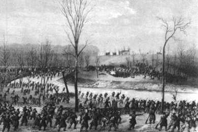 civil war battle coloring pages stones river | Part 3: Battle of Murfreesboro – Rutherford County ...