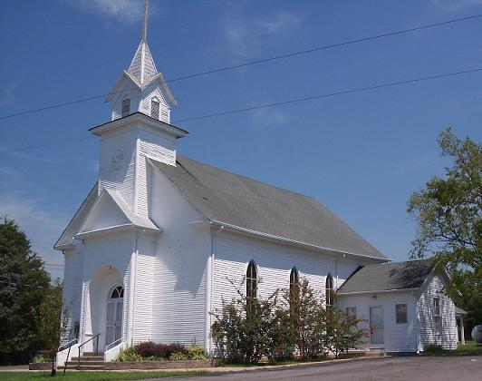 Fosterville Church of Christ has been in existence since 1867, with the current building being built in 1889.
