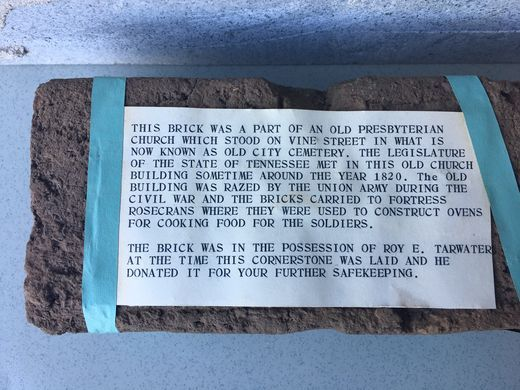 What they found in the wall: Police department time capsule